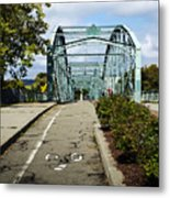 Historic South Washington St. Bridge Binghamton Ny Metal Print