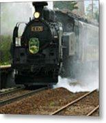 Historic Steam Train Metal Print