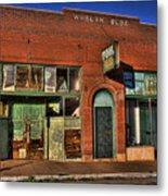 Historic Storefront In Bisbee Metal Print
