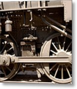 Historic Trains Metal Print