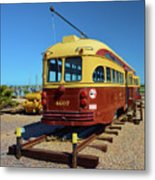 Historic Trolley Metal Print