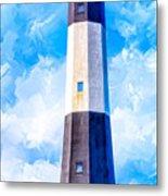 Historic Tybee Island Lighthouse Metal Print