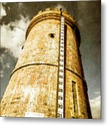 Historic Water Storage Structure Metal Print