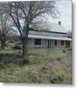 Historical Concho House Metal Print