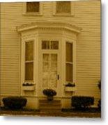 Historical Housing Fort Leavenworth Metal Print