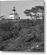 Historical Lighthouse- Point Loma Metal Print