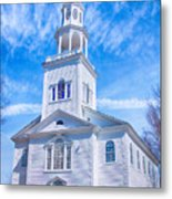 Historical Old First Church Metal Print