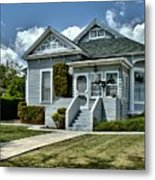 Historical Old Home Metal Print