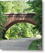 Historical Stone Arched Bridge Metal Print