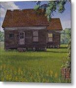 Historical Warrenton Farm House Metal Print