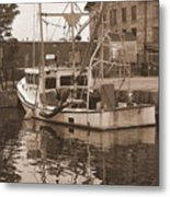 Historical Waterfront  Metal Print
