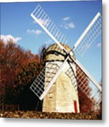 Historical Windmill Metal Print