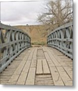 History Bridge Metal Print