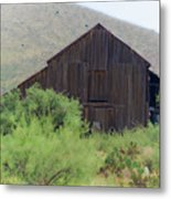 History In A Barn Metal Print