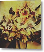 History In Bloom Metal Print