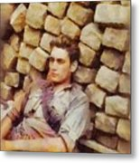 History In Color. French Resistance Fighter, Wwii Metal Print
