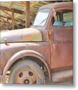 History On Wheels Metal Print