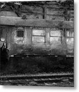History Train Metal Print