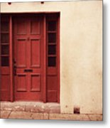History's Doorway Metal Print