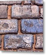 Hit The Bricks Metal Print
