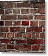 Hit The Wall Metal Print