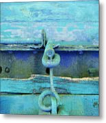 Hitch In Blues Metal Print