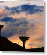 Hitech Sunset Metal Print