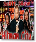 Hitman City Metal Print