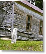Hocking Hills Church Metal Print