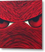 Hog Eyes 2 Metal Print by Amy Parker