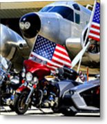 Hog Heaven At The Hollister Air Show Metal Print