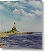 Hogby Lighthouse Metal Print