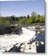 Hogs Back Falls Metal Print