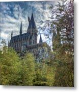 Hogwarts Castle Metal Print