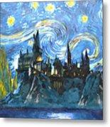Harry Potter Starry Night Metal Print