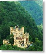 Hohenschwangau Castle 1 Metal Print
