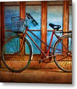 Hoi An Bike Metal Print