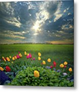 Hold Fast What Is Good Metal Print