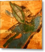 Hold On - Tile Metal Print