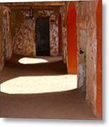 Holding Cells For Slaves Metal Print