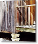 Holding Up The House Metal Print