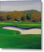 Hole 1 Great Beginnings Metal Print