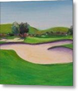 Hole 10 Pastures Of Heaven Metal Print