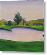 Hole 2 Nuttings Creek Metal Print