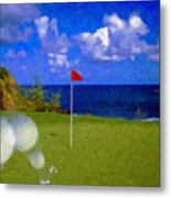 Fantastic 18th Green Metal Print