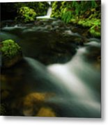 Hole In The Wall Falls Metal Print