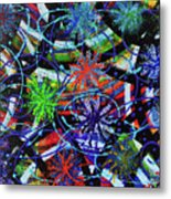 Holiday Abstract  Metal Print