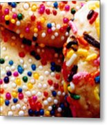 Holiday Cookies Metal Print