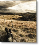Holiday In Tasmania Metal Print