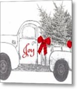 Holiday Joy Chesilhurst Farm Metal Print
